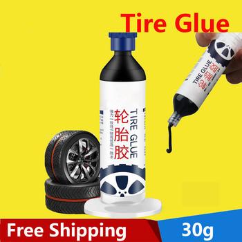 Naprawa opony mocny klej 30g opona samochodowa naprawa gumy specjalny klej naprawa opony boczne twarde uszkodzenie klej naprawa pęknięcia wypełnienie klej tanie i dobre opinie CN (pochodzenie) inny Repair Tire Strong Glue Klej w płynie 30 ml
