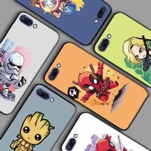 купить Iron Man Batman Bags For Huawei Honor View 10 20 V10 V20 Phone Cases Black TPU Y5 II Y6 II  Y5ii Y5 2 Y6ii Case 10i 20i Cover по цене 76.85 рублей