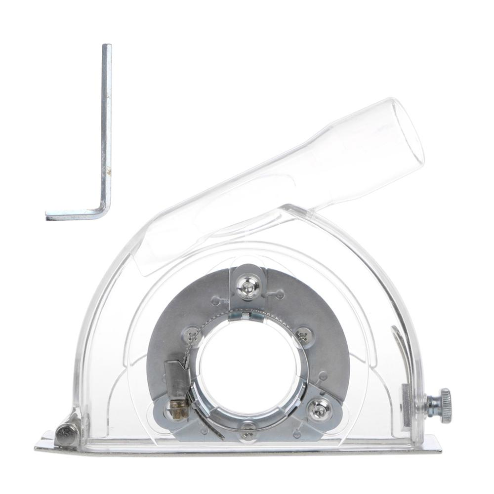 Clear Cutting Dust Shroud Grinding Cover For Angle Grinder & 3