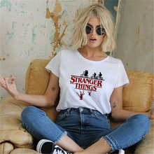Showtly Stranger Things T Shirt Eleven Women Casual Top Tee