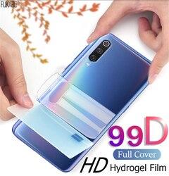 Folia hydrożelowa przednia i tylna 99D folie ochronne na ekran do Xiaomi Redmi mi uwaga 10 Pro Lite 9 SE folia ochronna do mi 9t 10 Pro 8 9 Lite A2 nie szkło hartowane