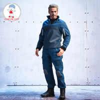 В Srock SWTOYS SF019 1/6 Мстители Железный человек Тони Старк фигурка Модель 12 дюймов Мужская коллекция кукол