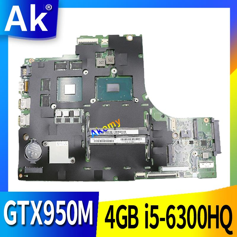 Free Shipping For LENOVO Ideapad 700-15ISK Motherboard Tested 100% Work LOL SKL MB 15221-1M 448.06R01.001M GTX950M/4GB I5-6300HQ