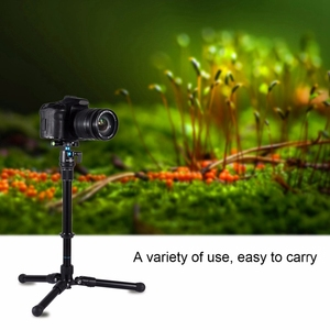 Image 5 - Retail Puluz For Camera Accessories Metal Handheld Adjustable 3/8 Inch Screw Tripod Mount Monopod Extension Rod For Dslr & Slr