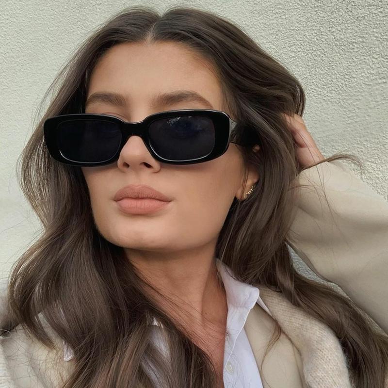 2021 Square Sunglasses Women Luxury Brand Travel Small Rectangle Sun Glasses Female Fashion Retro Lunette De Soleil Femme