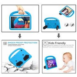 Enfants étui pour Huawei Mediapad T5 10 10.1 pouces tablette à main EVA antichoc couverture complète du corps pour Huawei T3 9.6 10.1 pouces étui
