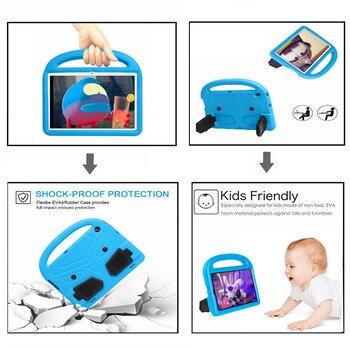 Pokrowiec dziecięcy do Huawei Mediapad T5 10 10.1 calowy Tablet ręczny EVA odporny na wstrząsy pokrowiec na całe ciało do Huawei T3 9.6 10.1 calowy pokrowiec