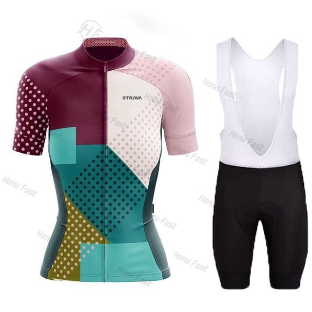 2021 mulheres strava verão camisa de ciclismo respirável mtb bicicleta ciclismo roupas mountain bike wear maillot ropa ciclismo 3