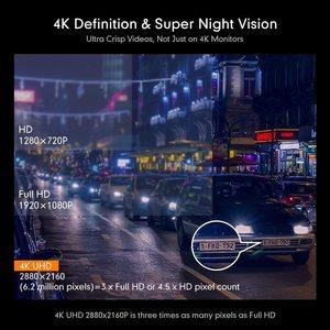 Image 4 - AZDOME 4K 2160P Dual Lens Built in GPS WiFi FHD 1080P Front + VGA Rear Camera Car DVR Recorder GS63H Dash Cam Night Vision