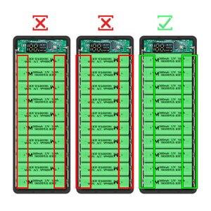 Image 5 - 10*18650 Power Bank Dual USBโทรศัพท์มือถือFast Charger Storage DIY Shell Digital Display 18650แบตเตอรี่ผู้ถือกล่องชาร์จ