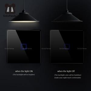 Image 2 - Настенный переключатель для лестницы, европейского стандарта, 2 канала, сенсорный высветильник ель для домашней автоматизации, водонепроницаемый и огнестойкий, 1 2 3 канала, одна линия прямого эфира