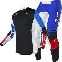 Free shipping 2020 Delicate Fox MX MTB Flex Air Gear Set Motocross Downhill Bike Suit Motorcycle MTB Bike Off road Kit