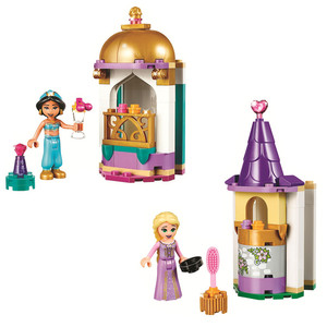Princess Rapunzel's Jasmine's Petite Tower Building Blocks Kit Bricks Classic Friends Girl Model Kids Toys For Children Gift