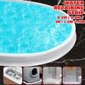Водоудерживающая лента Гибкая самоклеящаяся Силиконовая Водонепроницаемая силиконовая полоса для ванной комнаты душевой комнаты пол раз...