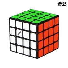 цена на Neot Qiyi Ms 4x4x4 Magic Cube Stickerless Magnetic Magic Cube Puzzle Professional Speed Cube Educational Kids Toys Gift Maigco
