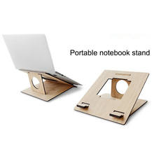 Folding Cooling Laptop Holder Ergonomic Stand Adjustable PC support lapdesk Notebook
