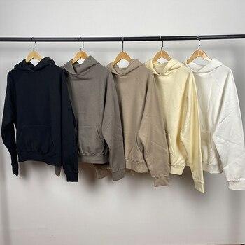 2020FW Own Design New Hoodies Rubber Letter Print Sweatshirts Loose Ovesized Cotton Street Fashion Men Hoodies 1