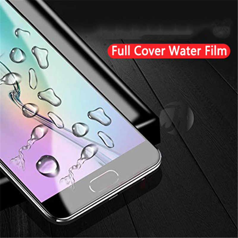 2 Pcs Pelindung Layar Hidrogel Film untuk Red Mi Note7 8 Pro 7pro 7A untuk Mi 9 Mi X4 Cc9 E Pelindung untuk Xiao Mi Merah Mi Note 7