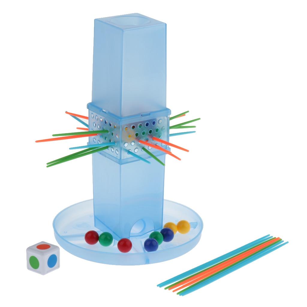 Mini Desktop Toys - Tabletop Pull Rod Game Fun Board Game For Kids Adult