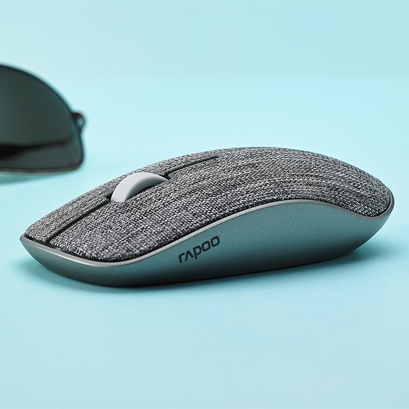 Rapoo Беспроводной Мышь эргономичная Бесшумная офисная игровая мышь 2,4G Wi-Fi Bluetooth 3,0/4,0 Управление подключить планшетный компьютер игровой Мышь