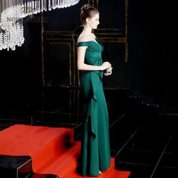 prom dresses 2019 green mermaid sexy split elastic party dress sexy vestidos de gala sweetheart long prom gown 5