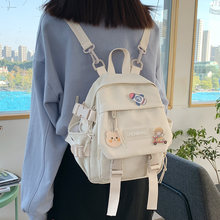 Small women's backpack girls school bag waterproof nylon fashion Japanese casual young girl's bag Female mini