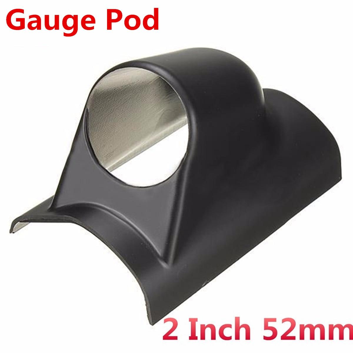 2 дюйма 52 мм Универсальный Автомобильный авто-столб одно отверстие приборной панели измерительный прибор для Pod держатель ручной привод тем...