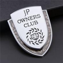 Metalen Junction Produceren Jp Luxe Vip Jdm Kofferbak Emblemen Badge Decal Sticker