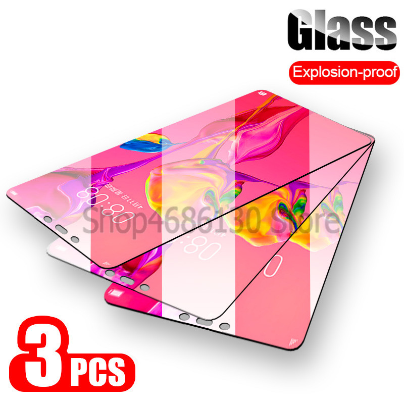 3PCS 9H Tempered Glass On The For Huawei P20 P30 Mate 20 Lite Screen Protector Film For Huawei P20 Pro P30 P Smart 2019 Glass