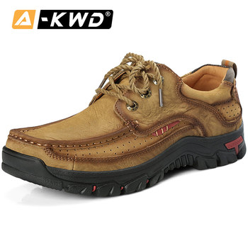 New Fashion Shoes 2019 Sports Shoes Men Mocassin Men Loafers Shoes Outdoor Casual Genuine Leather Shoe Genuine Leather Sneakers
