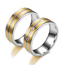 Для мужчин и женщин из нержавеющей стали для влюбленных пар;