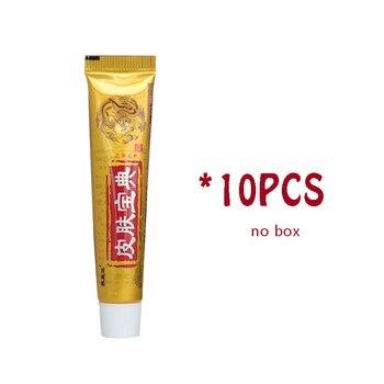 10PCS YIGANERJING Pifubaodian Original Psoriasis Dermatitis Eczema Pruritus Skin Problems Cream With Retail Box Hot Selling цена 2017