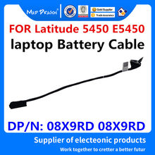 Novo original 08x9rd 8x9rd dc02001yj00 para dell latitude 5450 e5450 zam70 laptops bateria conector linha cabo da bateria
