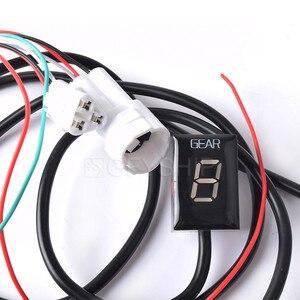 Image 2 - لياماها FZ1 FZ6 FZ6R FZ8 FZ400 FZH150 FZN150 FZ16 FZS LED إلكترونيات 1 6 مستوى والعتاد مؤشر موتو سرعة الرقمية متر