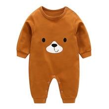 VTOM Baby/детские комбинезоны для мальчиков и девочек; комбинезоны с длинными рукавами; Детский комбинезон с героями мультфильмов; одежда для малышей; BB8-2