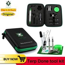 LTQ outils dherbes sèches Terp trousse à outils à base de plantes pour Airistech Nokiva Kingtons kit de vaporisateur dherbes ovales