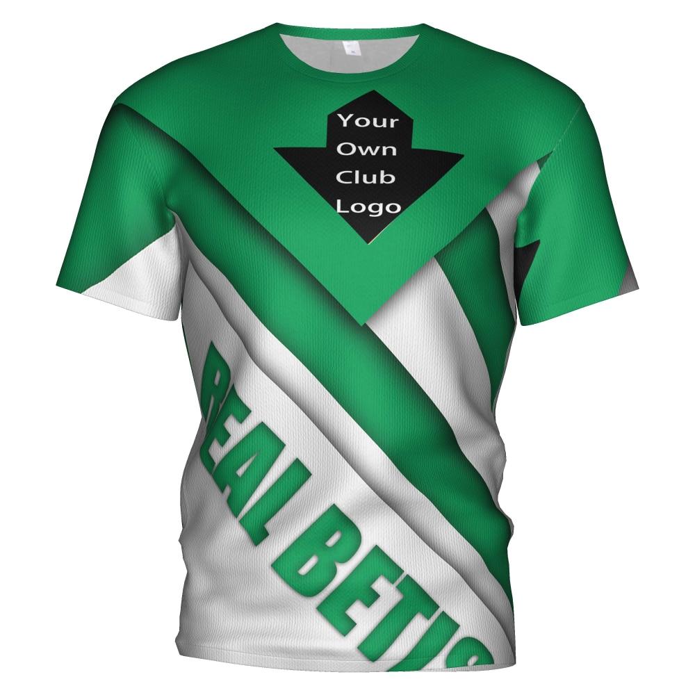 2018 2019 Real Betis Soccer Soccer Jersey Football 3d T Shirt Sweatshirt Real Betis Balompie Tracksuit Kit Kids Football T-shirt