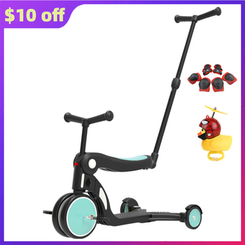 Light Stroller High Landview Multifunction Kids Tricycle Child Toys Car Safety Portable Walker Adjustable Dropshipping Free a generation of fat baby stroller toy car stroller walker walker toys for children