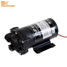 Coronwater 50 gpd עצמי תחול RO מים משאבת מגבר מערכת אוסמוזה הפוכה גם, אחסון טנק SP2500