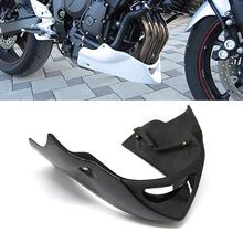 Bug-Spoiler Belly-Pan Lower-Fairing Fazer Yamaha Fz6 FOR 600/S2/ Puntale Black