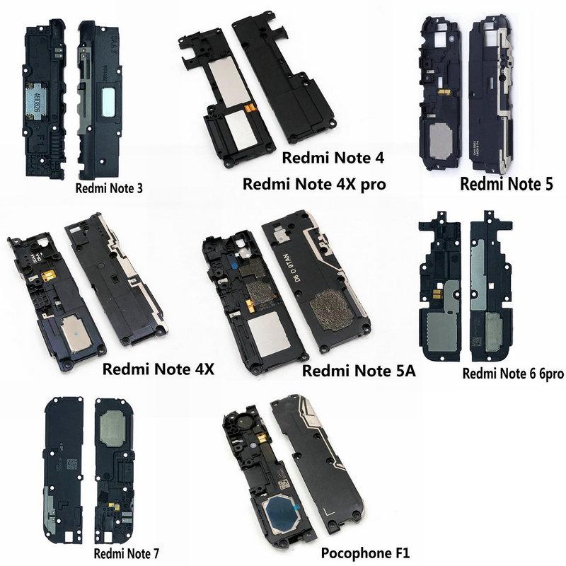 New Loud Speaker Buzzer Ringer Flex Replacement Parts For Xiaomi Redmi Note 3 4 4X 5 5A 6 7 Pocophone F1 Phone