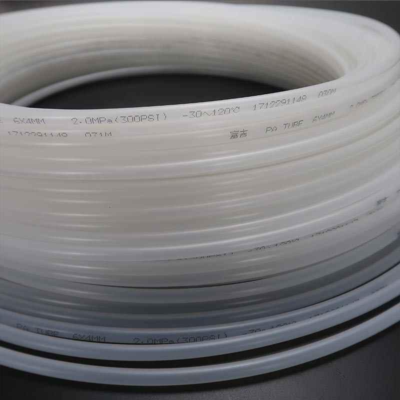 4 Mm PA Nylon Ống Cho Máy CNC Lubrucation Dụng Cụ Ống Dầu Trong Suốt Cao Cấp Nhựa Chống Đường Ống Khí Newcarve