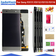 Original 5.0''  LCD For Sony Xperia XA F3111 F3113 F3115 LCD Display with touch Screen display Digitizer Assembly LCD with frame replacement parts for sony xperia xa lcd display with touch screen digitizer assembly f3111 f3113 f3115 one piece free shipping