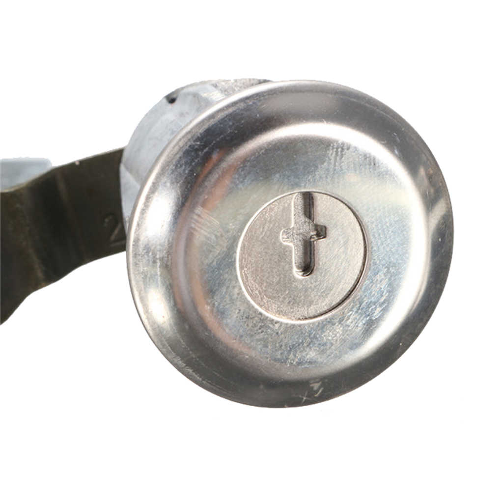 1 par Replcaement para PEUGEOT 206, 1998-2009 Metal Durable de la puerta cerradura de cilindro clave cerradura de la puerta del coche