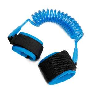 Strap-Rope Wristband Anti-Lost Safety Security for Kids Harness Leash Adjustable Children