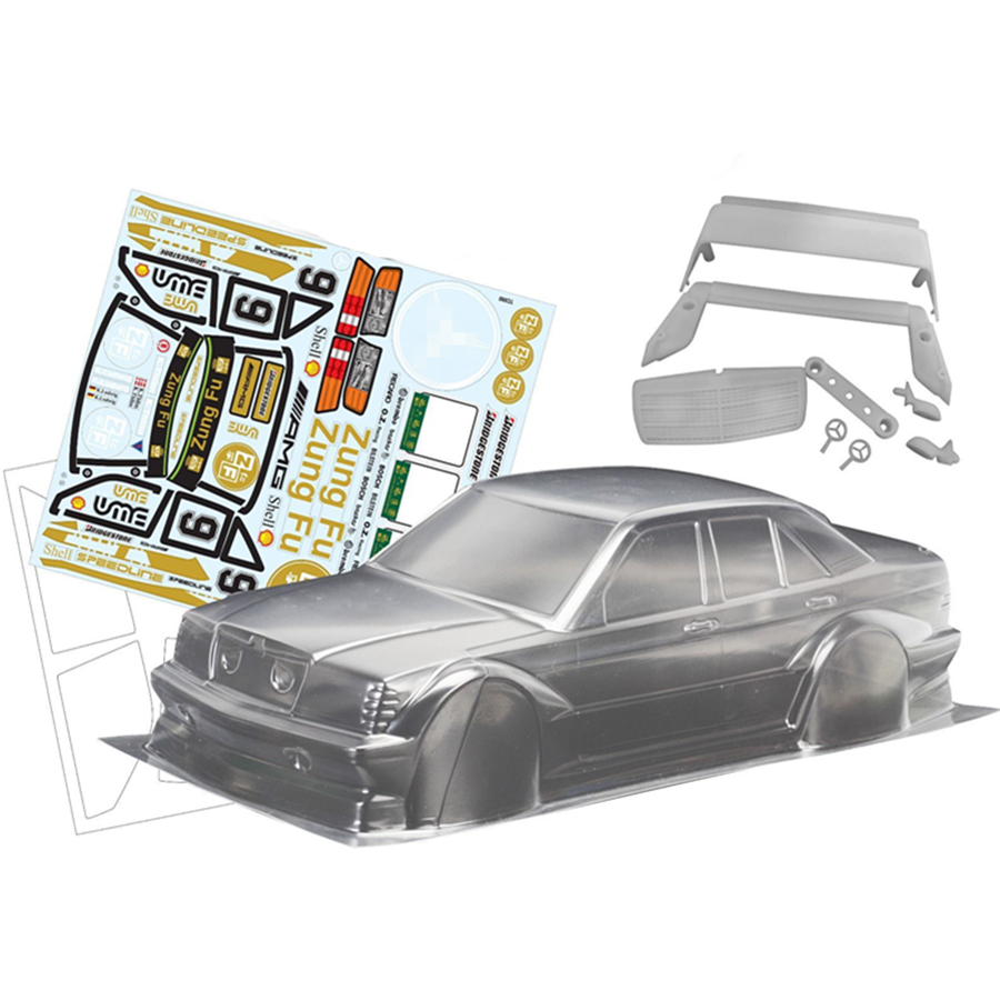 6 Different Styles 1//10 RC Car CHROME MIRROR SET For Body Shell