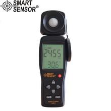 Умный датчик AS813 Цифровой Люксметр светильник Люкс/измеритель FC люминометр фотометр 100000 люкс спектрометр спектрофотометр