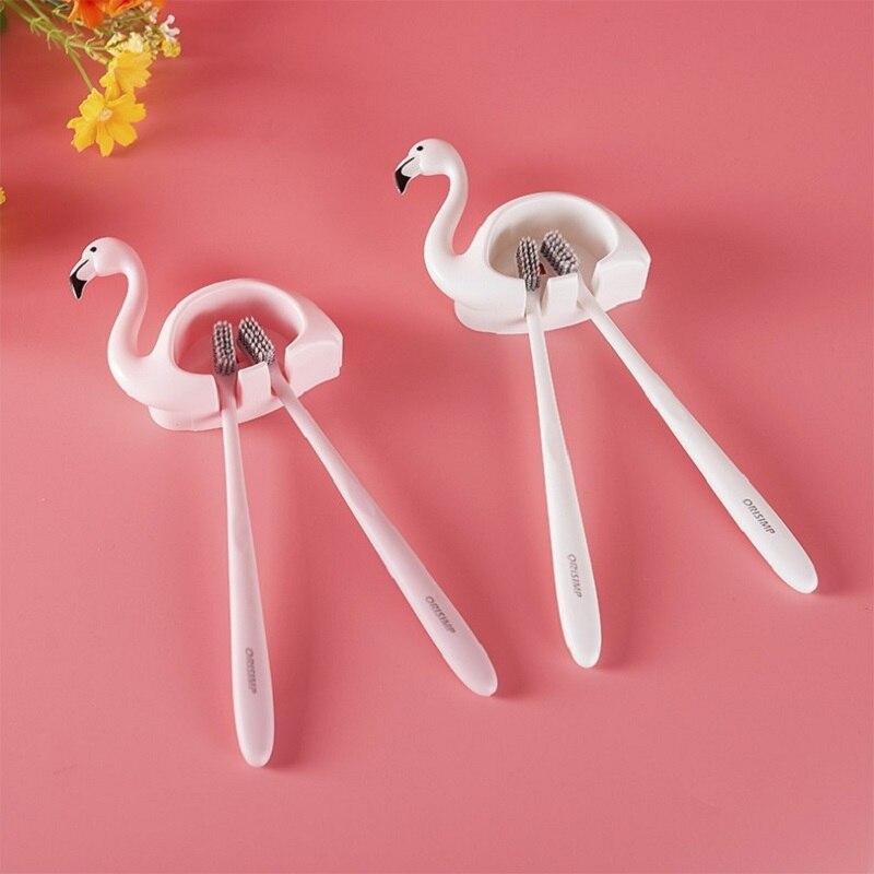 Купить фламинго зубная щётка держатель ванная комната многофункциональный