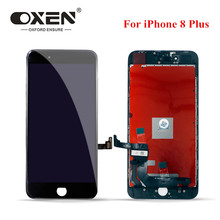 цены на OXEN 100% Tested LCD for iPhone 8 Plus 8plus Touch Screen Digitizer Assembly High Quality Replacement LCD Display Free Tools  в интернет-магазинах