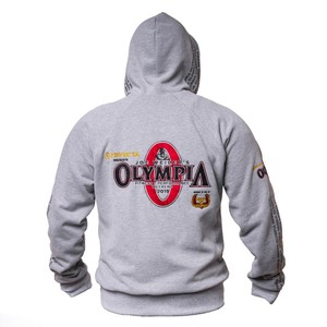 Image 2 - 2019 New OLYMPIA Men Gyms Hoodies Gyms Fitness Bodybuilding Sweatshirt Pullover Sportswear Male Workout Hooded Jacket Clothing